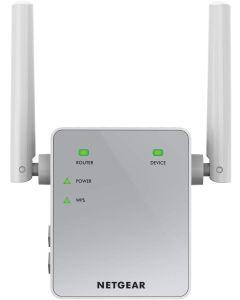 NETGEAR WiFi Booster Range Extender -Compact Wall Plug Design with UK Plug