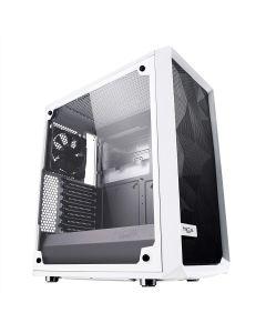 Fractal Design Meshify C - Compact Computer Case WHITE