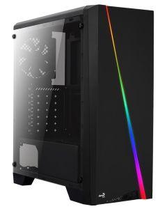 Aerocool Cylon Tempered Glass RGB MID TOWER CASE - Black