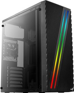 Aerocool Streak RGB Mid Tower Windowed Case