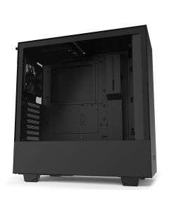 NZXT H510 Compact Mid-Tower Case with Tempered Glass - Black