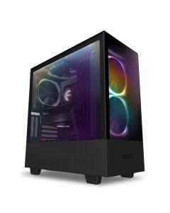 NZXT H510 Elite Premium Compact Mid-tower ATX Case - Black