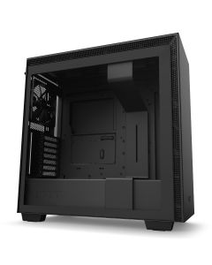 NZXT H710 Mid-Tower Case with Tempered Glass - Black