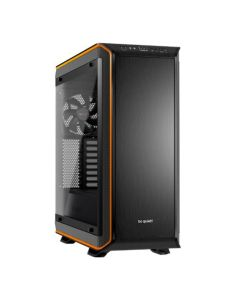 Be Quiet! Dark Base Pro 900 Rev2 Gaming Case w/ Window, E-ATX, No PSU, PSU Shroud, 3 x SilentWings 3 Fans, LEDs, Wireless Charger, Orange Trim
