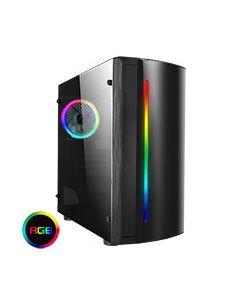 Beam MATX Gaming Case Rainbow RGB Strip 1 x Rainbow RGB fan Acrylic Side