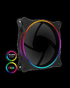 Mirage Rainbow RGB 120mm Fan 5V Addressable 3pin Header & 3pin M/B