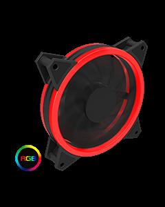 Velocity 12cm RGB Fan Bulk 4pin M&F Aura Header 3pin / 4pin Power