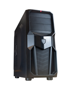 """ionz kz06 gaming case with Room for an external 5.25""""   Drive"""