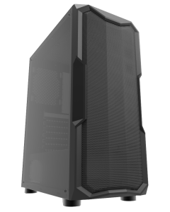 ionz KZ05 Classic Mesh Case in Black with an acrylic side
