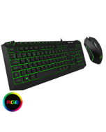 Pulse Kit 7 Colour RGB Keyboard with Pulsing Mouse